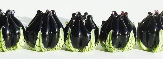 Black Flower Buds