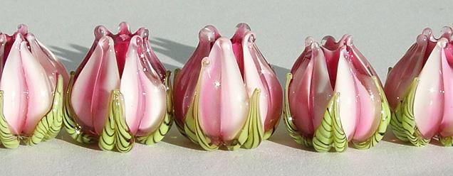 Lt Pink Variegated Flower Bud