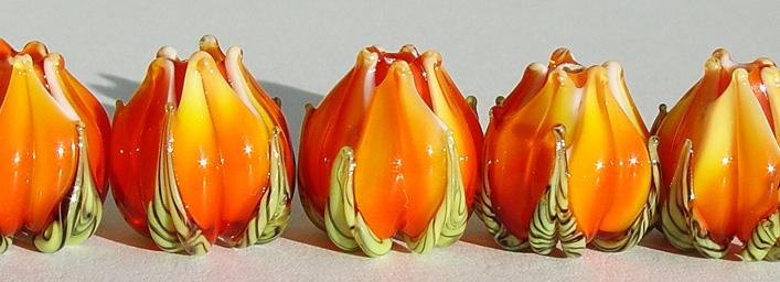 Orange Flower Buds