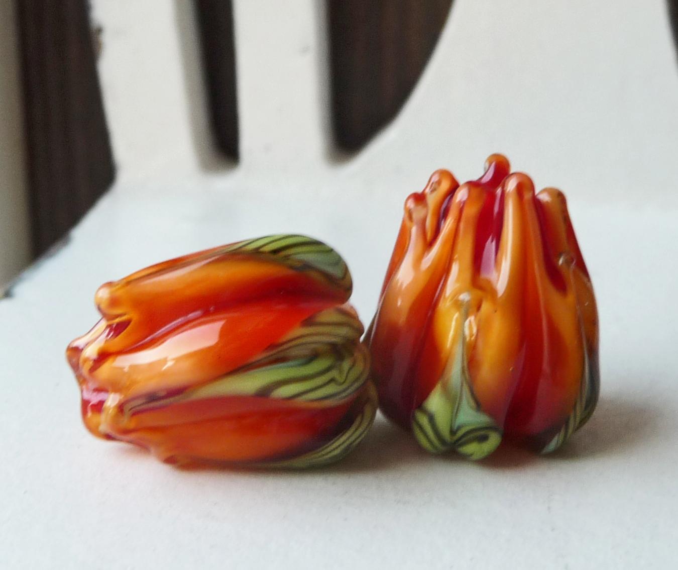 Fire Opal Flower Bud